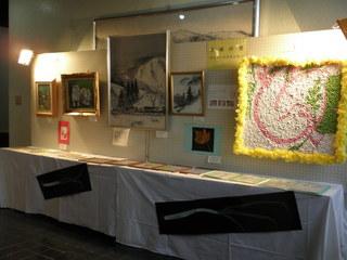 宮地地区文化祭での展示