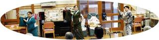 11月24日(月) 野菊の会の皆さんが、華やかな日本舞踊を披露してくださいました。