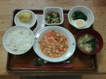 今日のお昼ごはんです。