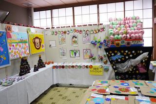 前橋市宮城地区文化祭へ、ご利用者さんの作品を出品しました。