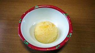 きょうのおやつは、パイン芋きんとんでした。
