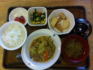 今日のお昼ご飯